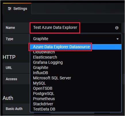 Visualize data from Azure Data Explorer using Grafana