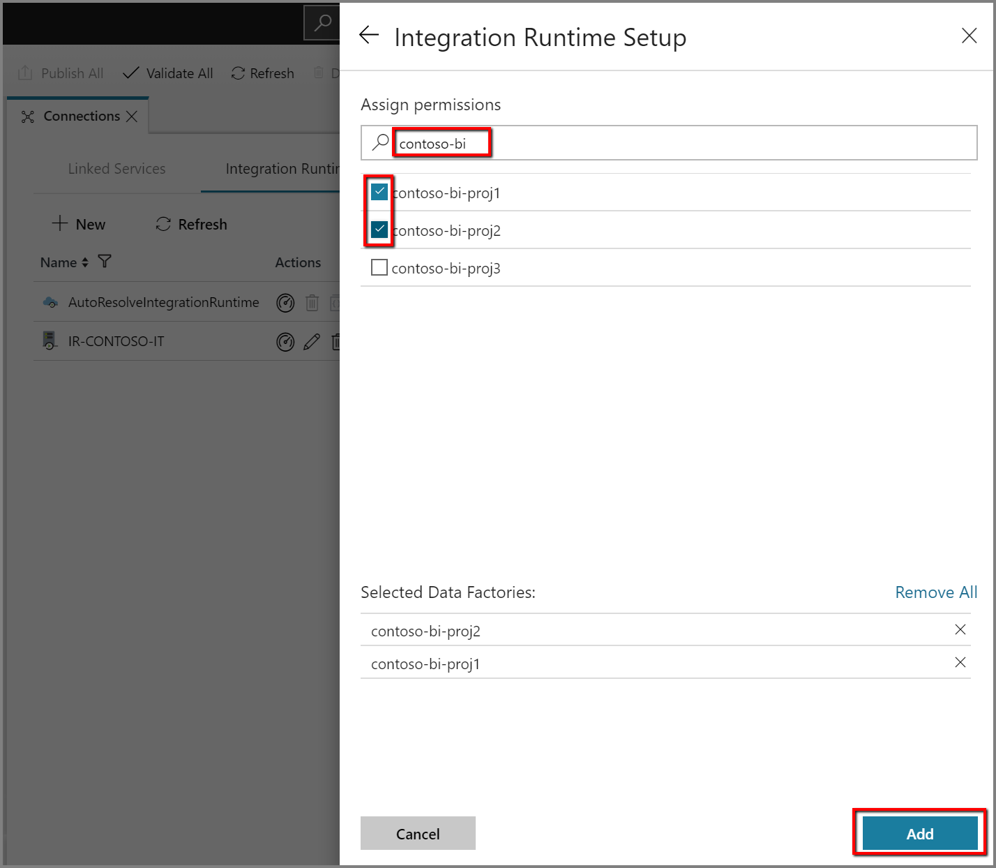 Create a self-hosted integration runtime in Azure Data Factory