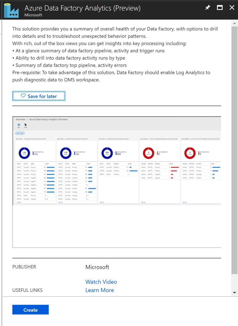 Monitor Data Factories Using Azure Microsoft Docs Datatool Alarm Wiring Diagram Oms Image4