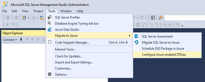 Execute SQL Server Integration Services (SSIS) packages with