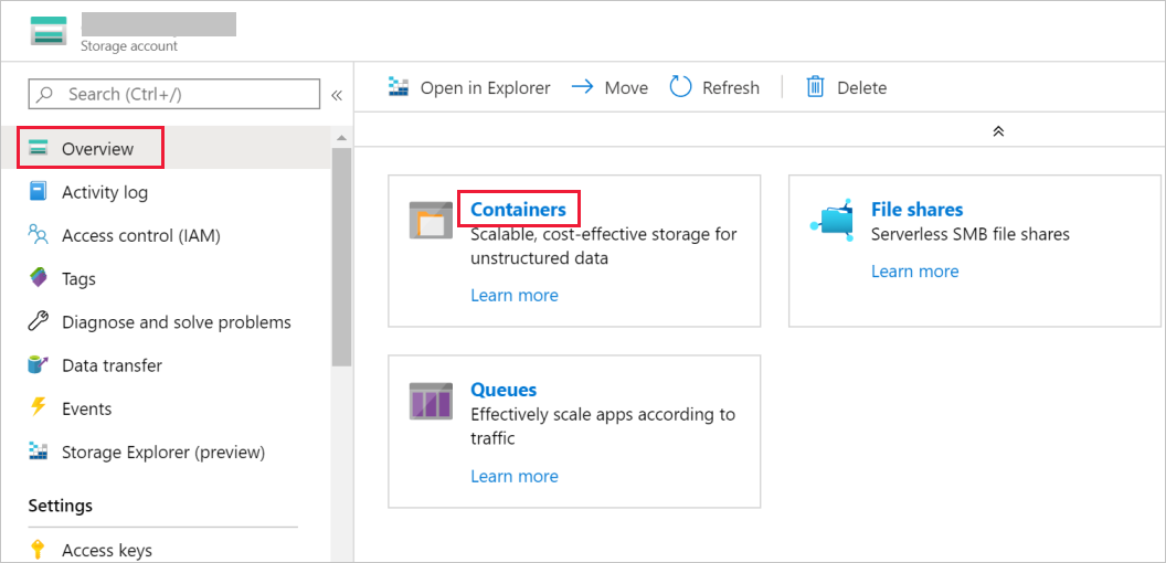 Copy data from SQL Server to Blob storage by using Azure