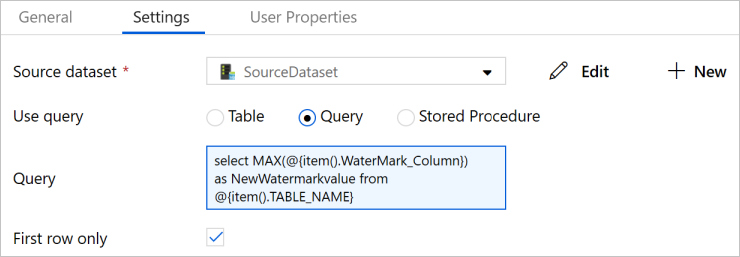 Incrementally copy multiple tables by using Azure Data Factory