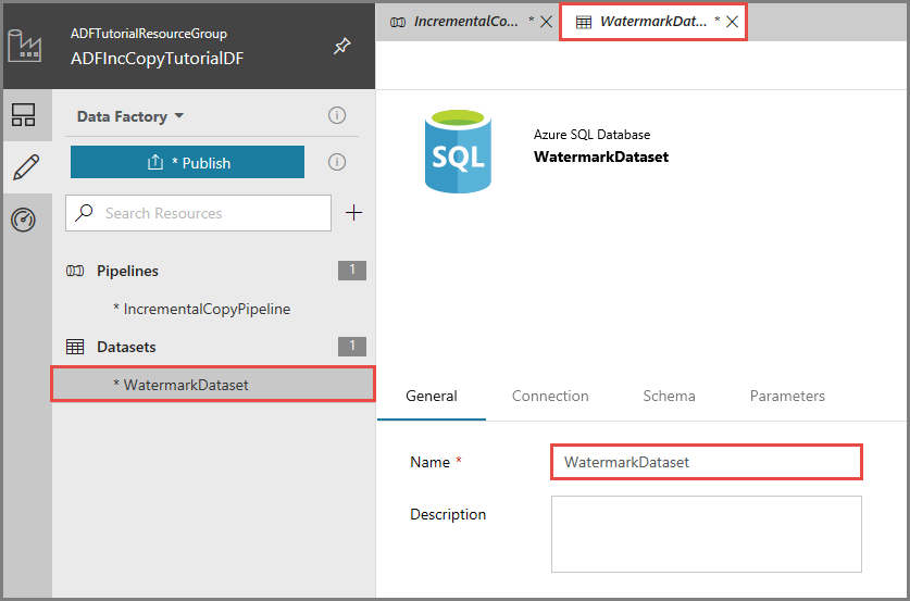 Incrementally copy a table by using Azure Data Factory | Microsoft Docs