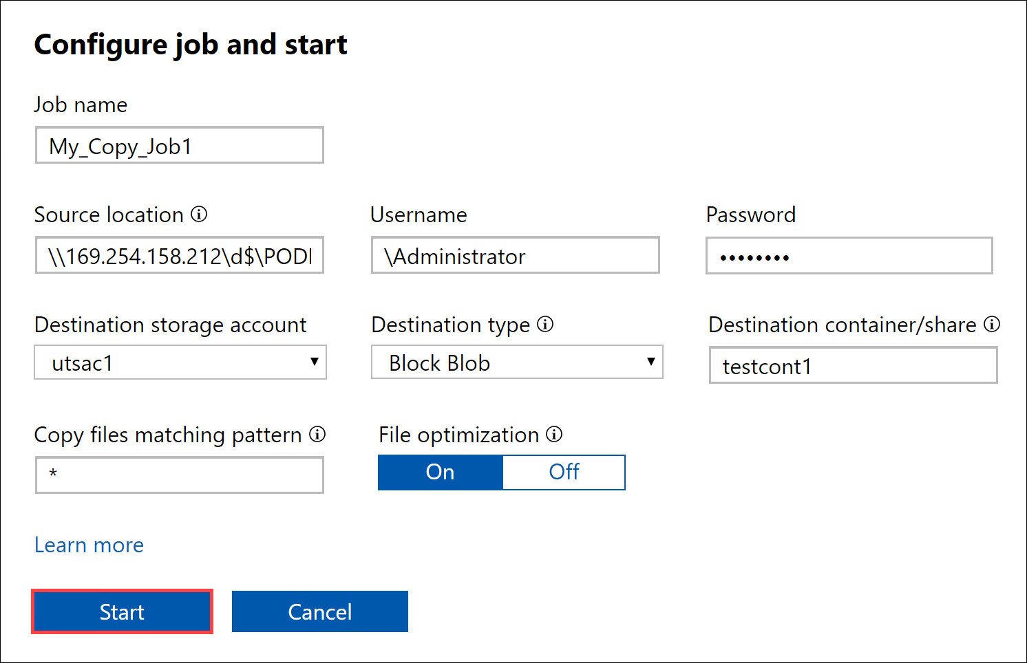 Tutorial to copy data to Azure Data Box device via data copy