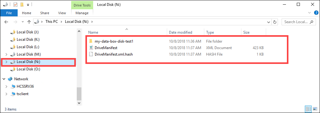 Tutorial to copy data to Azure Data Box Disk | Microsoft Docs