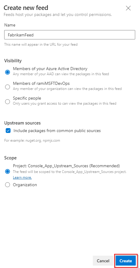 Use npm to store JavaScript packages in Azure DevOps Services - Azure  Artifacts | Microsoft Docs