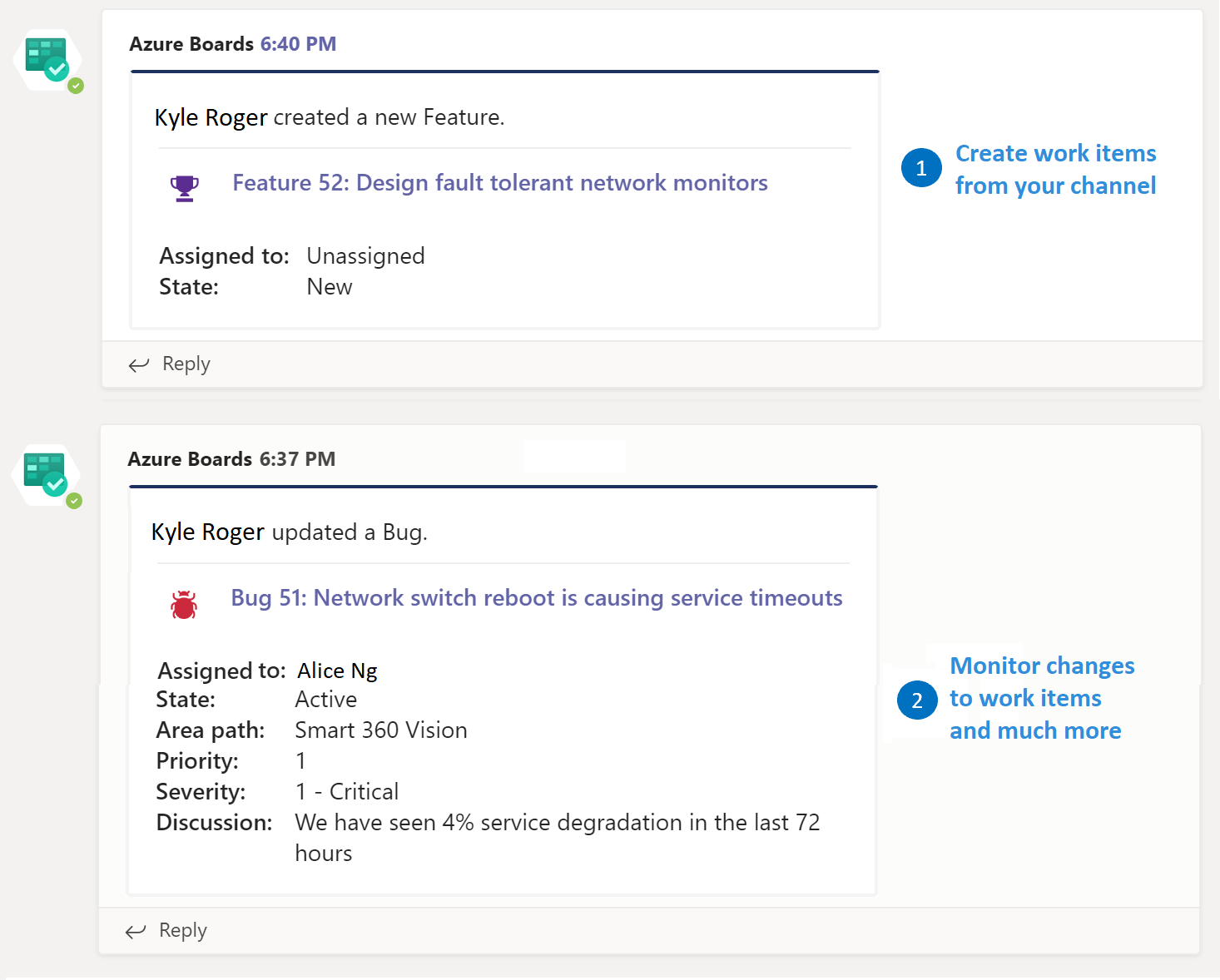 Azure Boards With Microsoft Teams Azure Boards Microsoft Docs