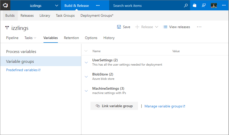 Visual Studio Team Services (VSTS) Sprint 121 Update | Microsoft Docs
