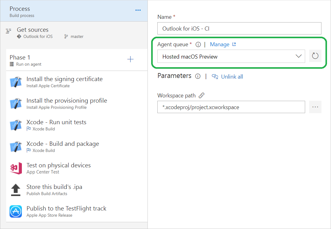 Azure DevOps Project, YAML builds, Gated releases, and Hosted Mac