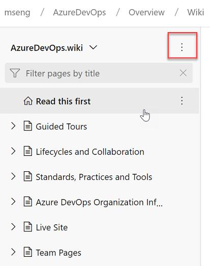 Wiki - Sprint 152 Update | Microsoft Docs