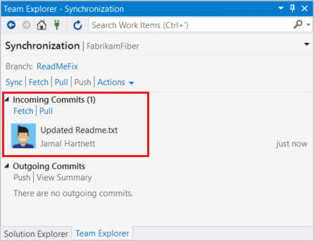 Pull changes to your local Git repo - Azure Repos | Microsoft Docs