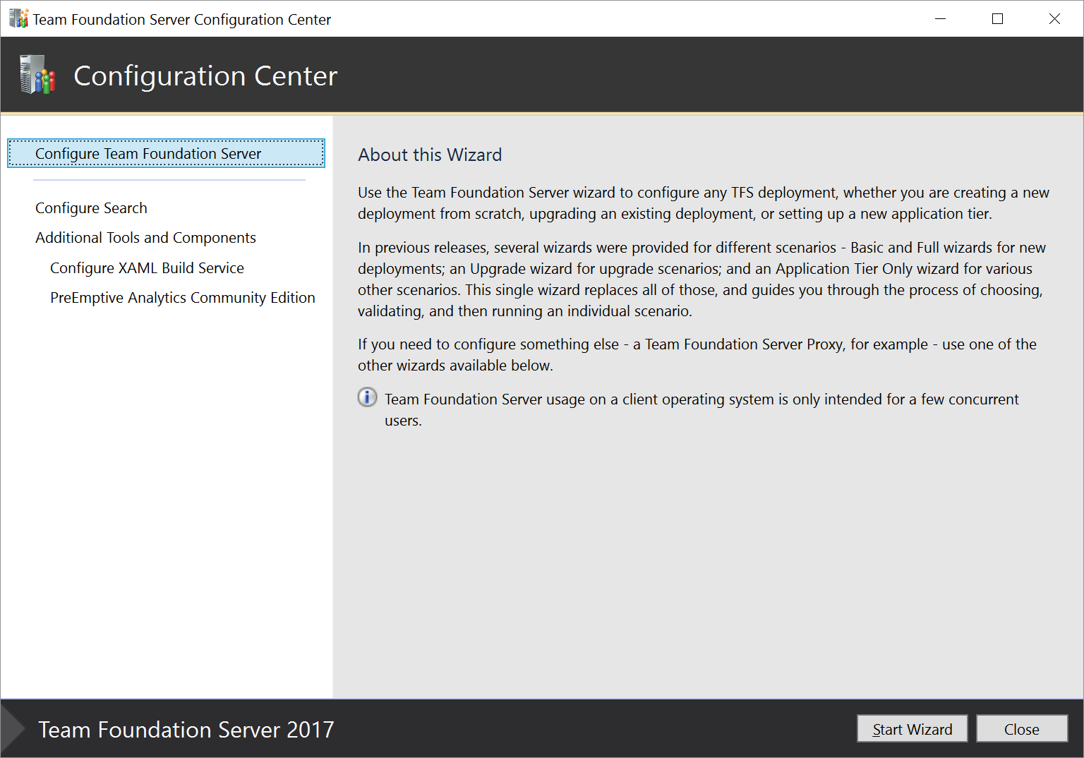 Install and configure - Azure DevOps Server & TFS