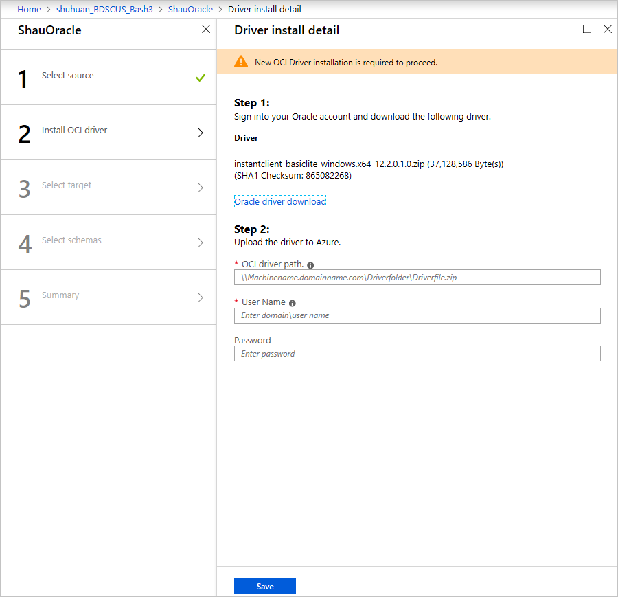 Tutorial: Use Azure Database Migration Service to perform an online