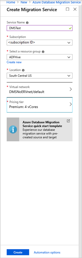 Tutorial: Use the Azure Database Migration Service for an online