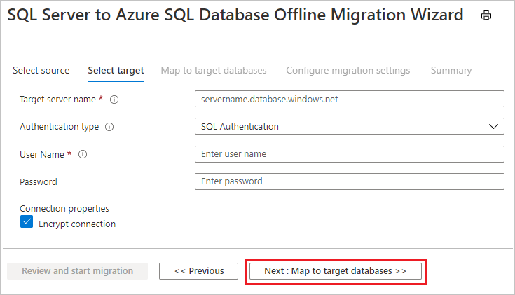 Tutorial: Use Azure Database Migration Service to migrate