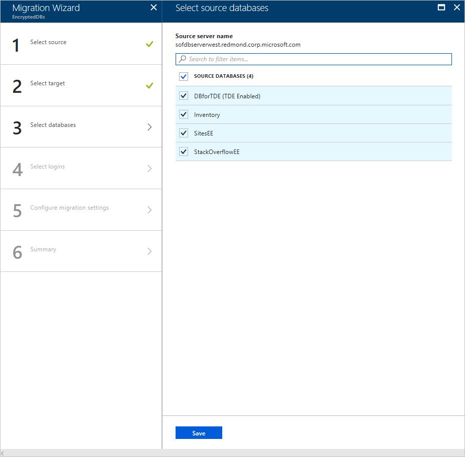 Tutorial: Use DMS to migrate to an Azure SQL Database