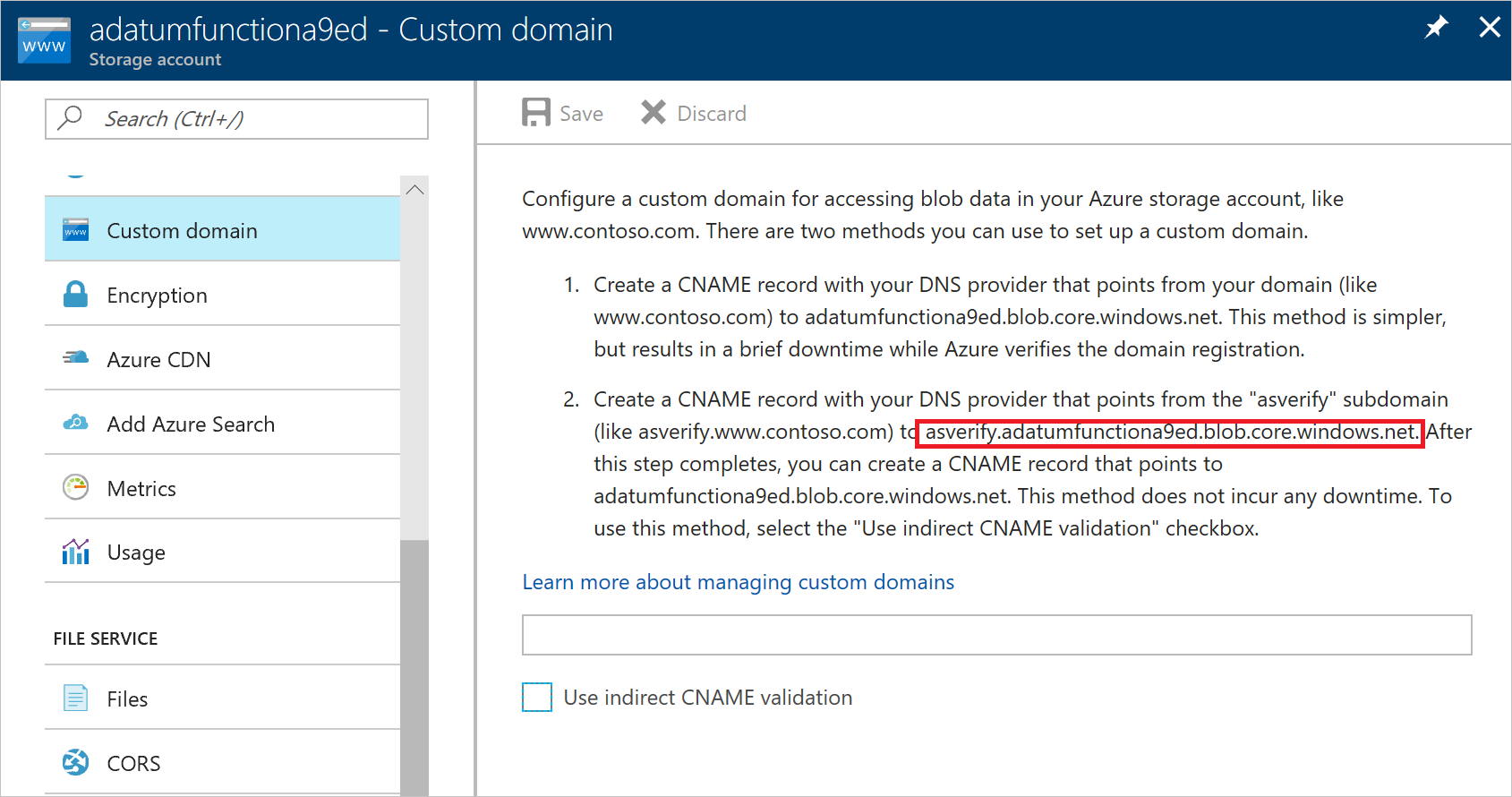 Integrate Azure DNS with your Azure resources  Microsoft Docs
