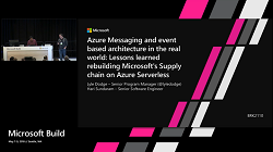 Azure Messaging and event based architecture (1:24:32)