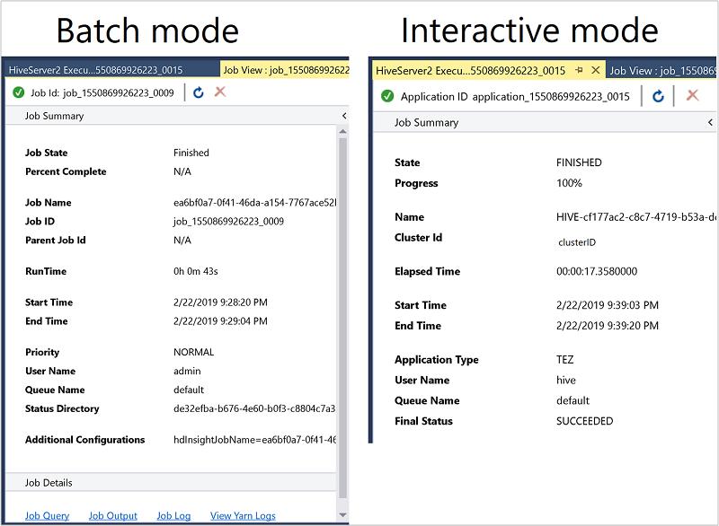 Apache Hadoop and Data Lake Tools for Visual Studio - Azure