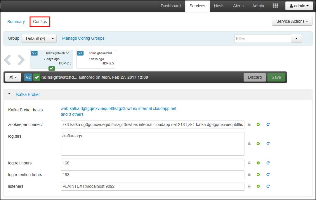 Use Azure Kubernetes Service with Kafka on HDInsight