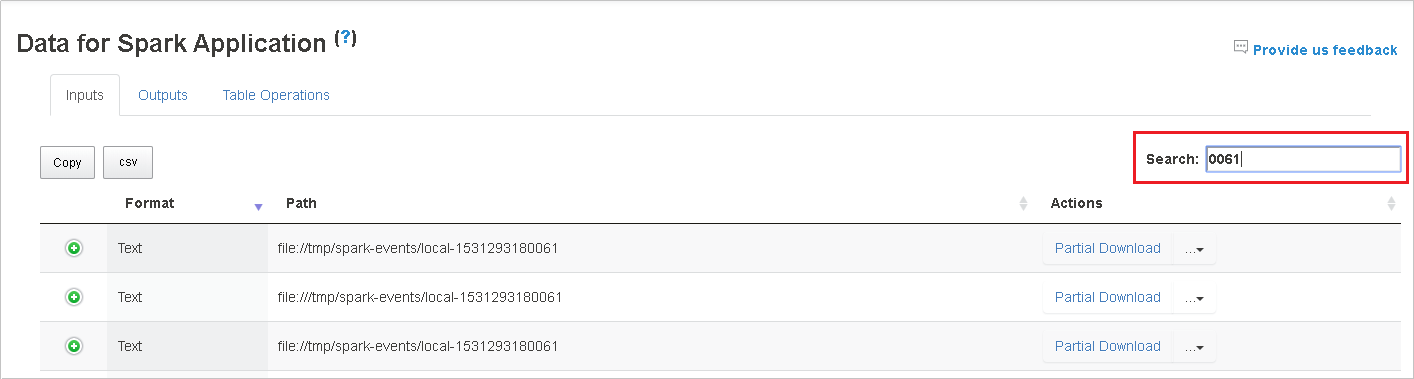 Extended Spark History Server to debug Spark applications