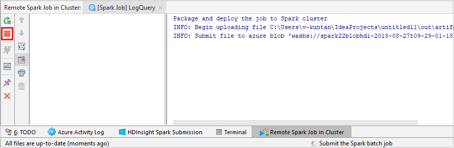 Tutorial - Azure Toolkit for IntelliJ: Spark application for