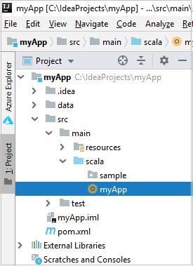 Tutorial - Azure Toolkit for IntelliJ: Create Spark applications for