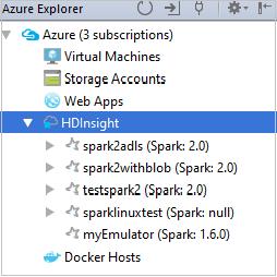Tutorial - Azure Toolkit for IntelliJ: Spark application for