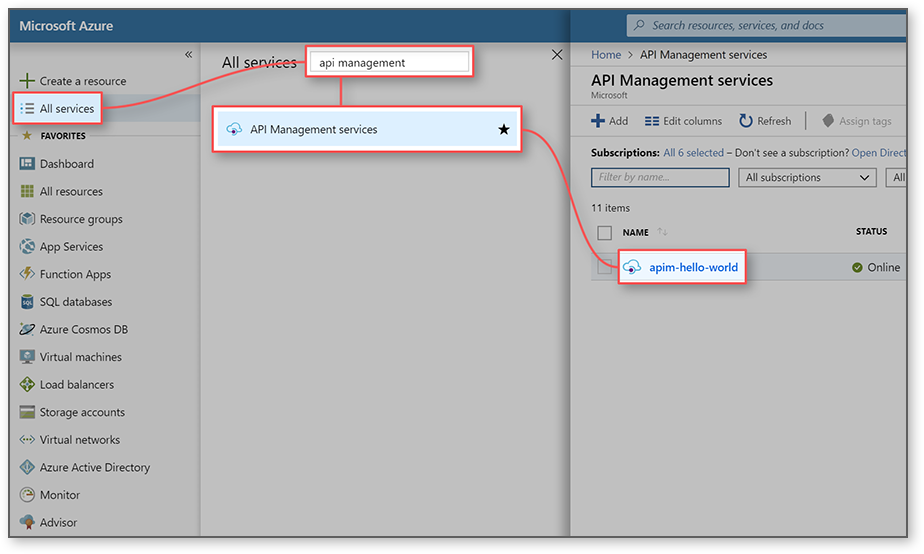 Import a SOAP API and convert to REST using the Azure portal