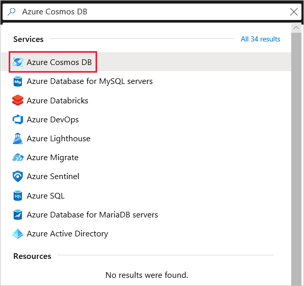 Azure Cosmos DB: Build an app with Python and the SQL API