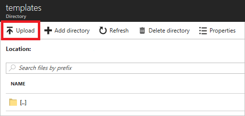 resource directory template