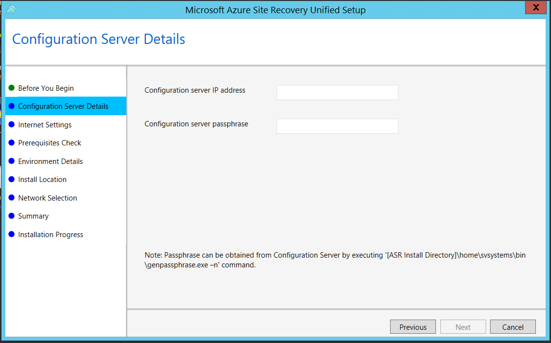Set up a process server in Azure for VMware VM and physical server ...