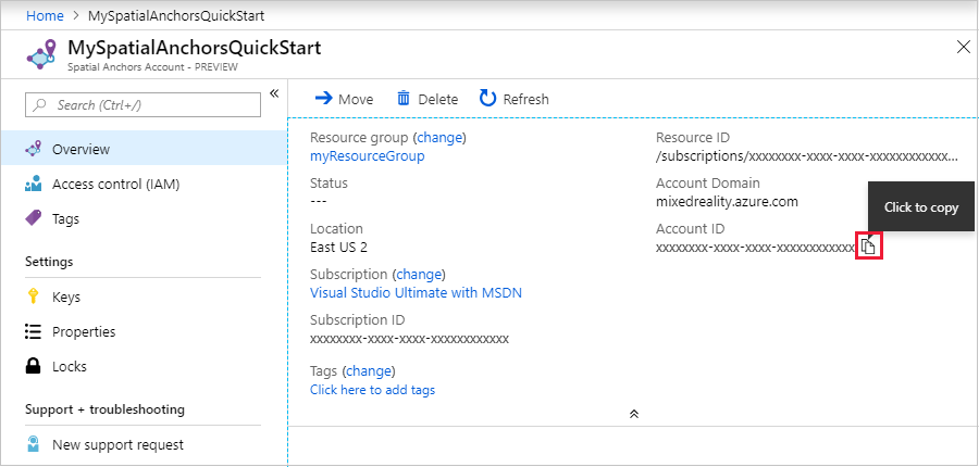 Quickstart - Create a Unity Android app with Azure Spatial