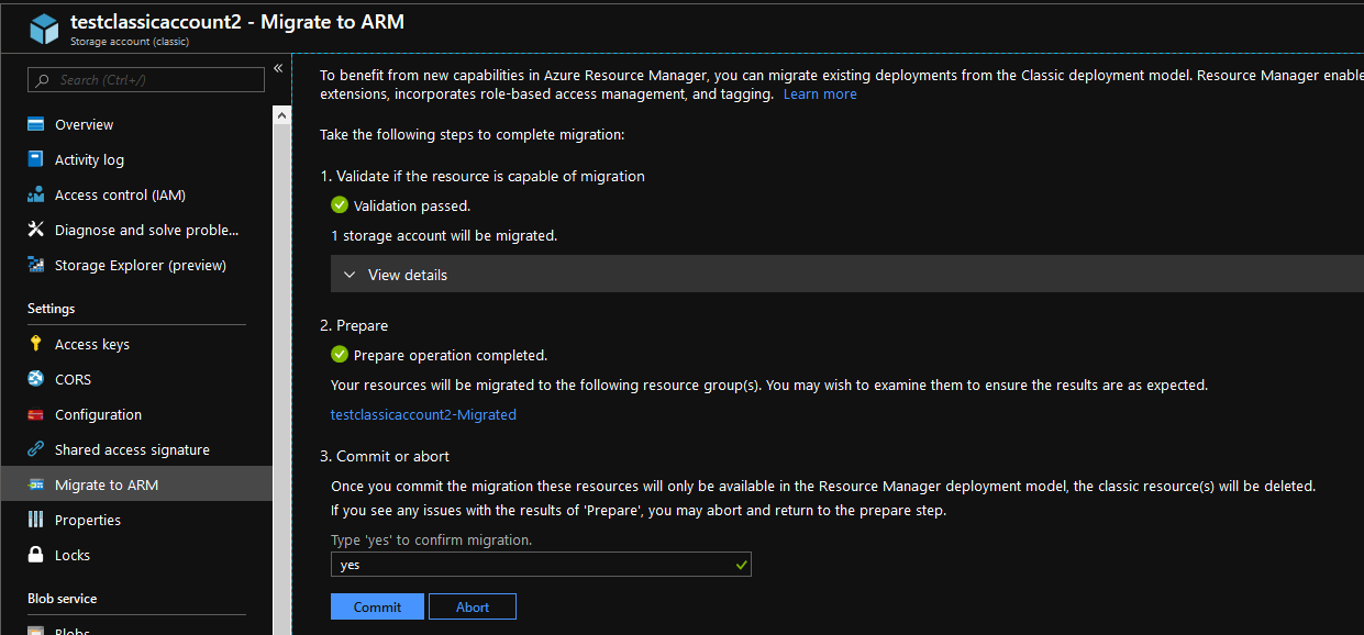 Migrate classic resources to Azure Resource Manager