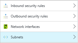 Apply NSGs to network interfaces or subnets