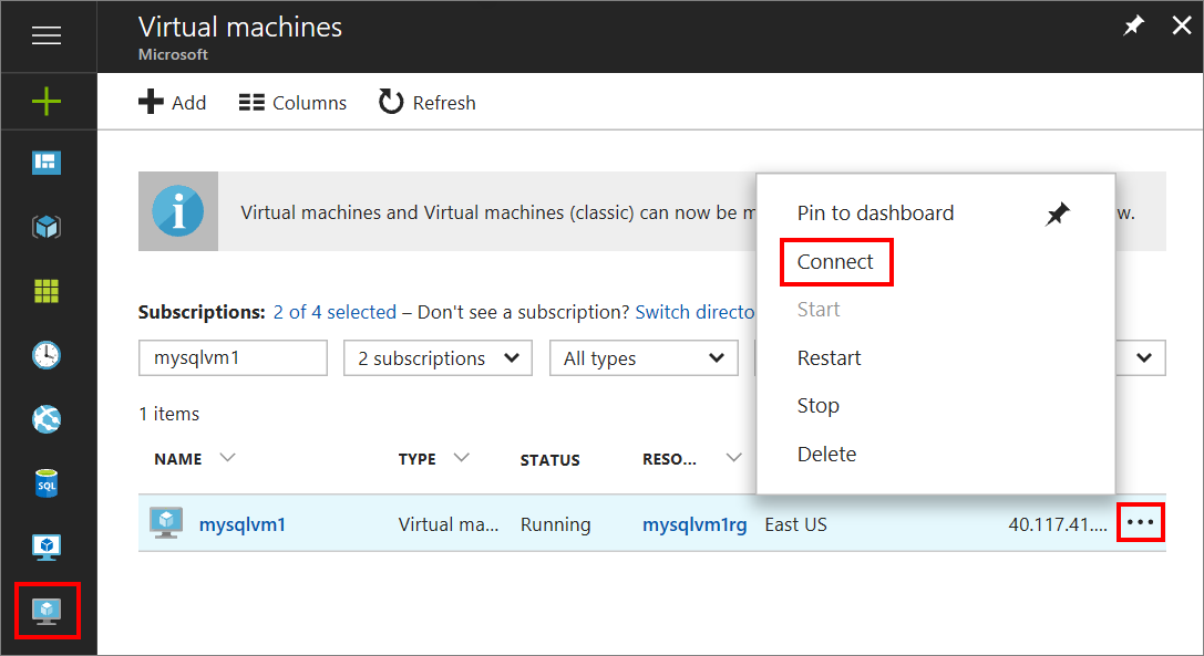 Connect to a SQL Server Virtual Machine (Resource Manager