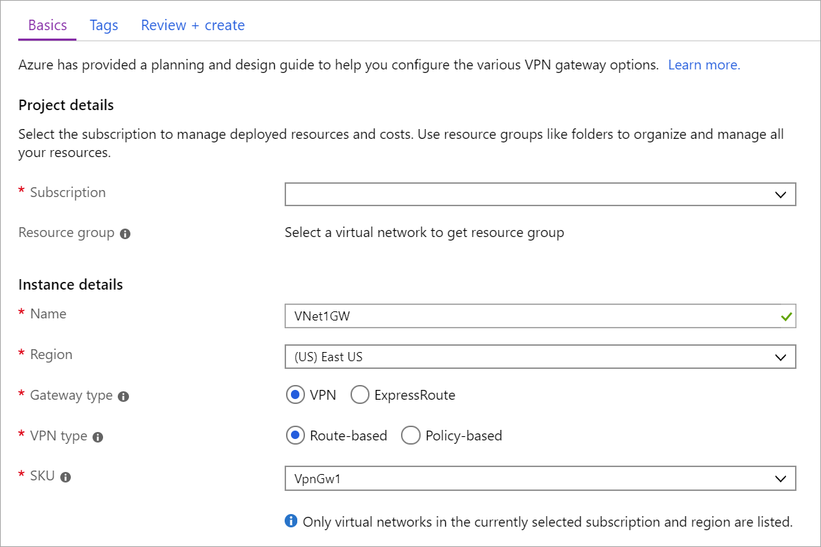 Connect a computer to an Azure virtual network using Point