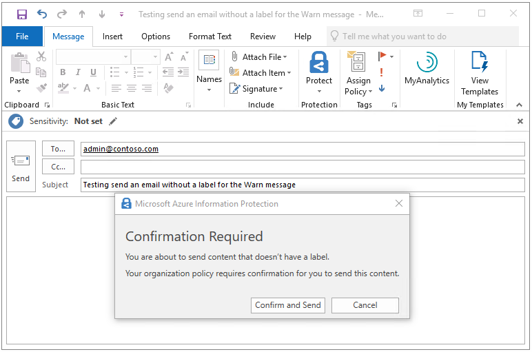 Tutorial - Use Azure Information Protection to control