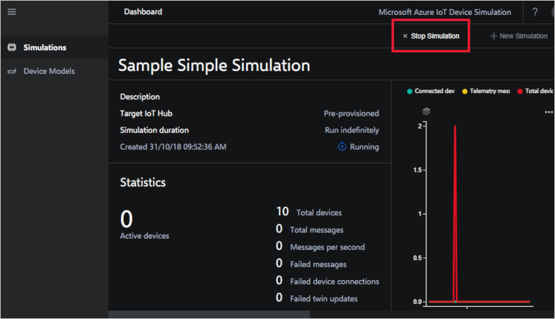 Try and run a device simulation solution - Azure | Microsoft