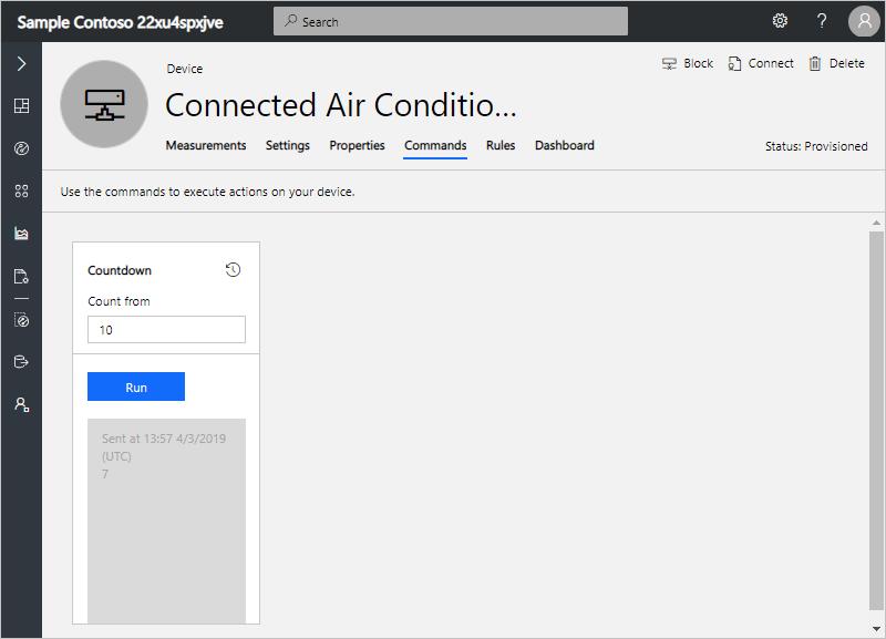 Connect a generic Node js client application to Azure IoT Central