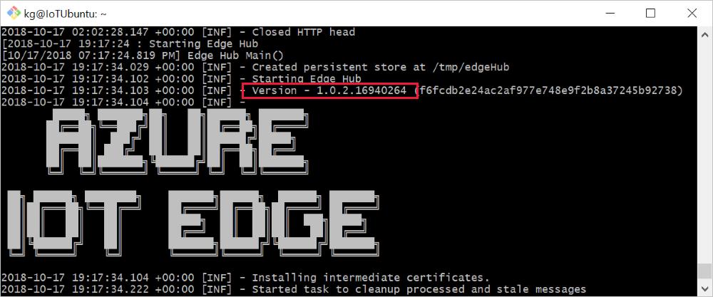 Update IoT Edge version on devices - Azure IoT Edge | Microsoft Docs