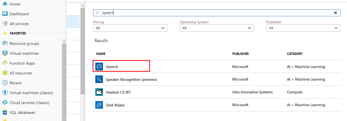 Create an IoT DevKit translator using Azure Functions and Cognitive