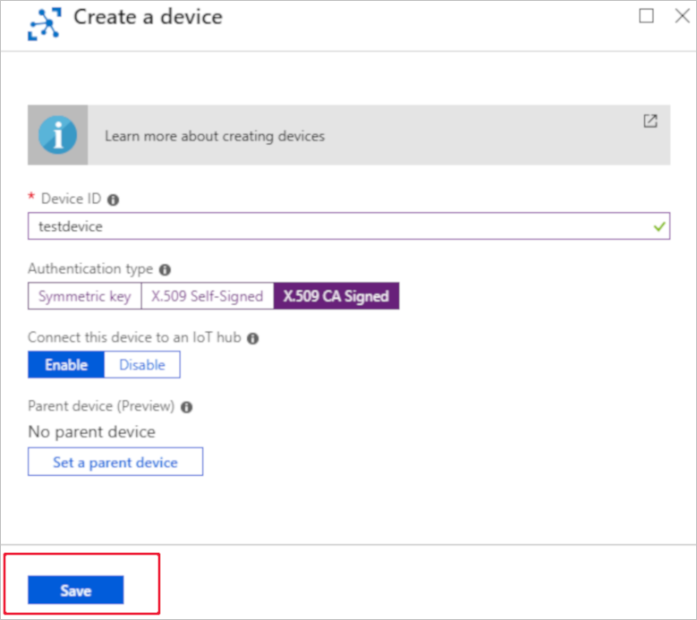 Tutorial For X509 Security In Azure Iot Hub Microsoft Docs