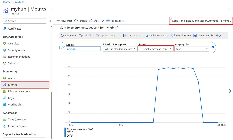 Check device connectivity to Azure IoT Hub | Microsoft Docs