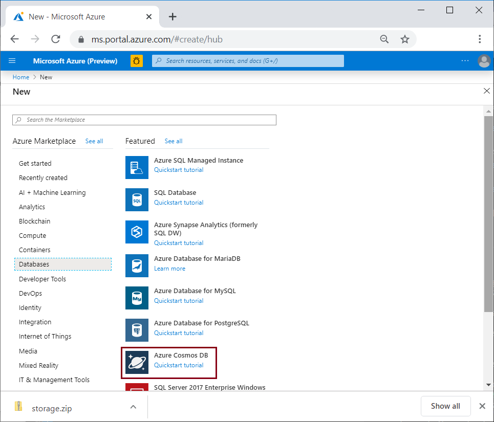 How to use the Spring Boot Starter with the Azure Cosmos DB