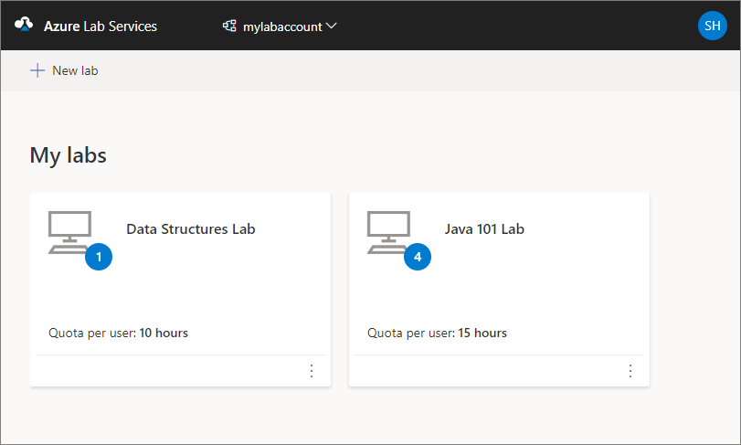 Manage classroom labs in Azure Lab Services | Microsoft Docs