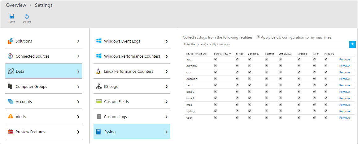 Collect And Analyze Syslog Messages In Oms Log Analytics Microsoft