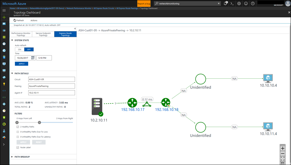 Network Performance Monitor Solution In Azure Log Analytics