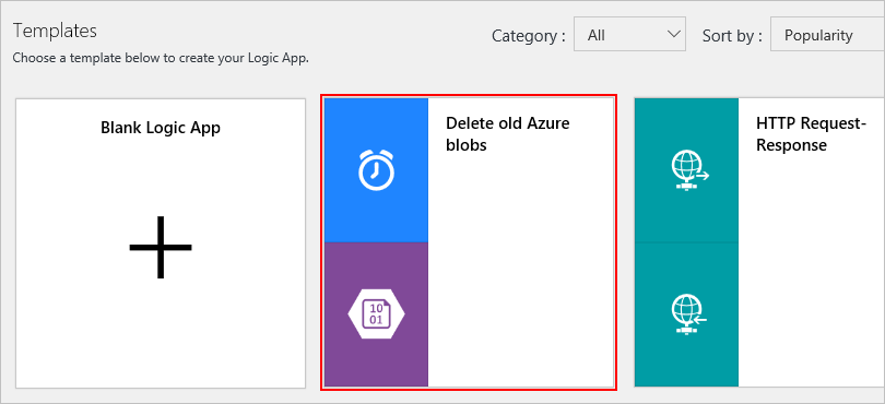 Create workflows from templates - Azure Logic Apps | Microsoft Docs