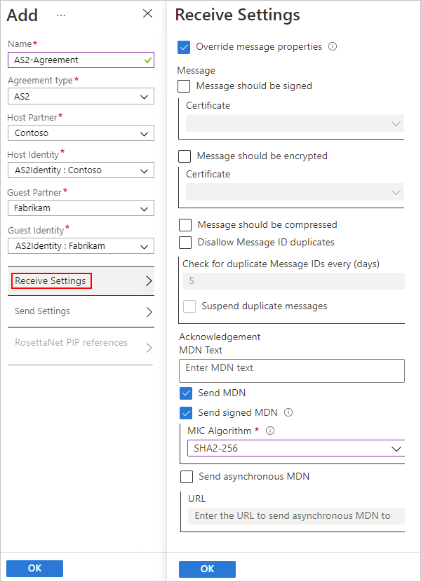 AS2 message settings - Azure Logic Apps | Microsoft Docs